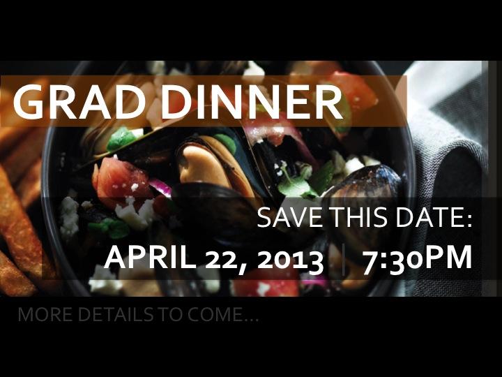 Grad Dinner teaser