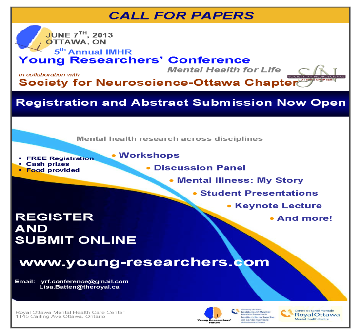 Young Researchers Poster 2013