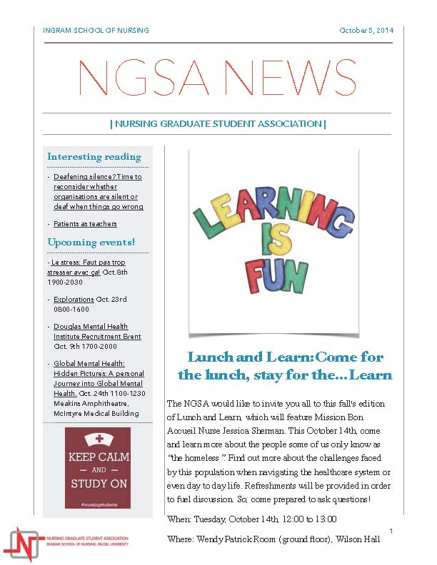 October 5th 2014 Newsletter_Page_1